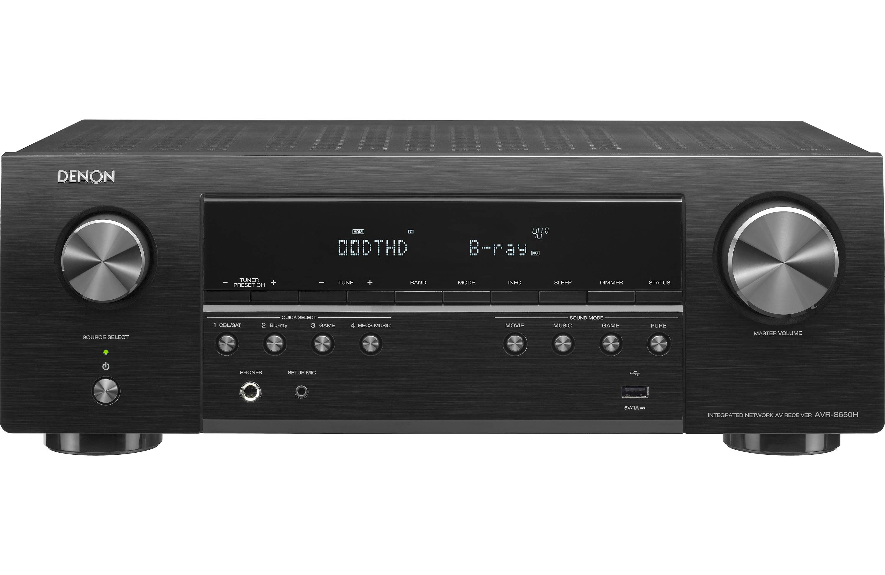 Denon AVR-S650H Review - Features and Specs | ZKelectronics