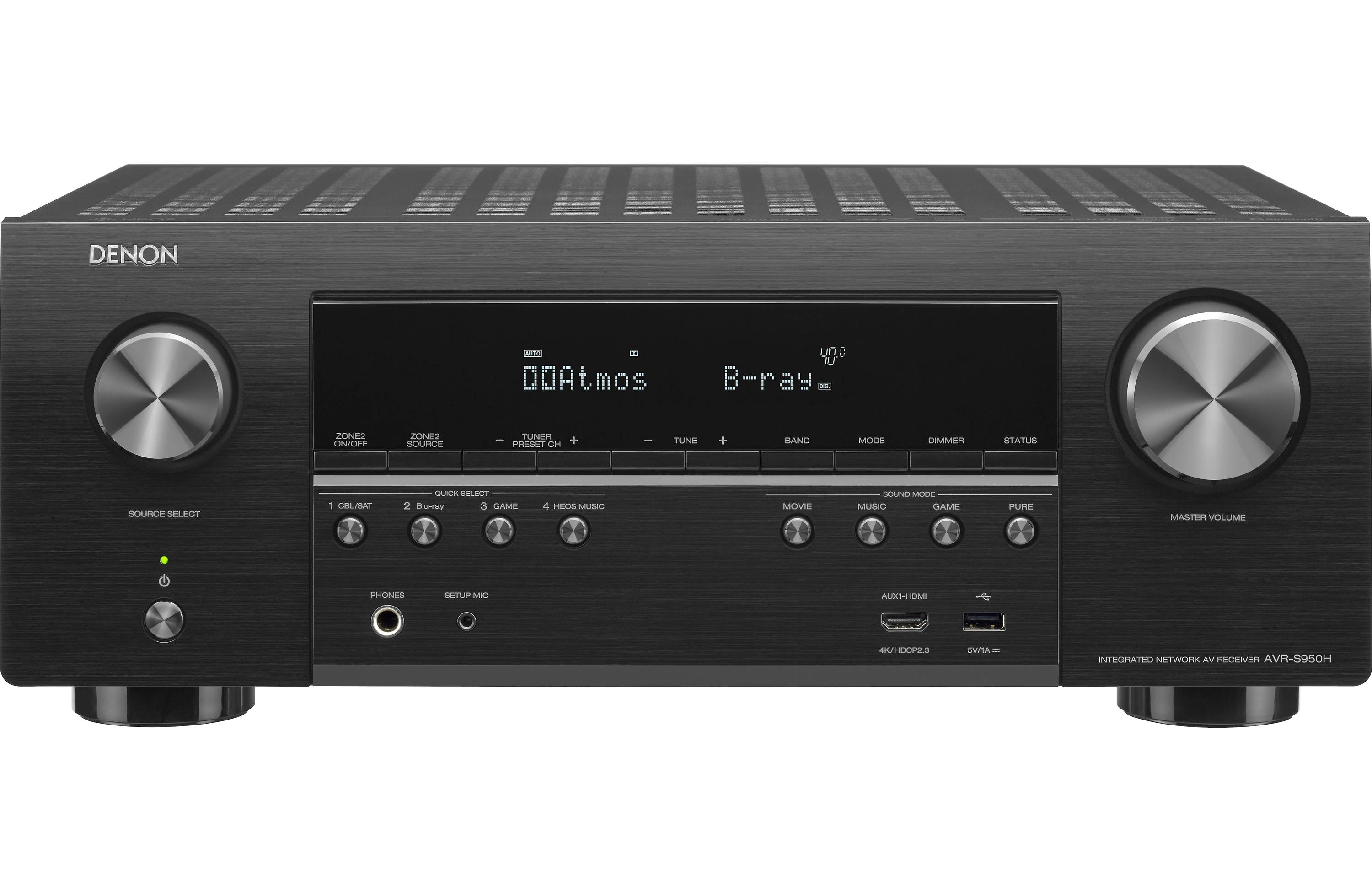 Denon AVR-S950H Review - Features and Specs | ZKelectronics