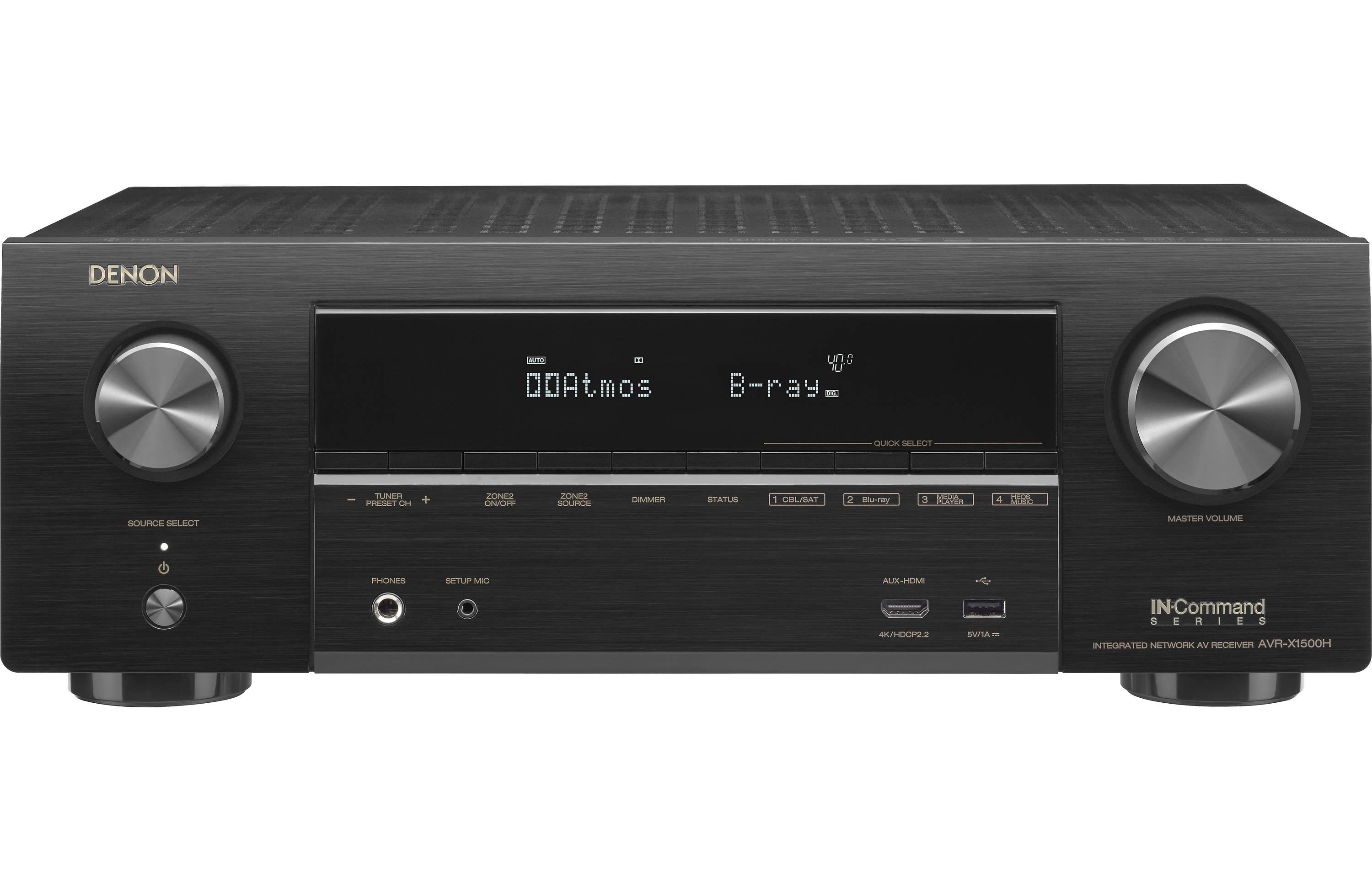 Denon AVR-X1500H Review - Features and Specs | ZKelectronics