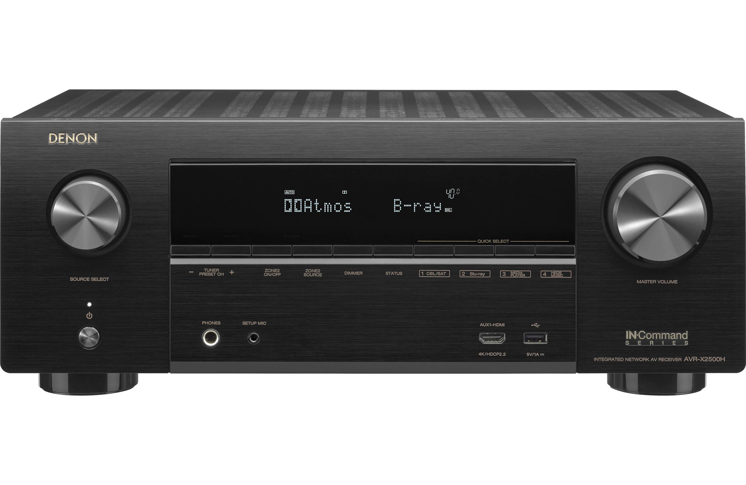Denon AVR-X2500H Review - Features and Specs | ZKelectronics