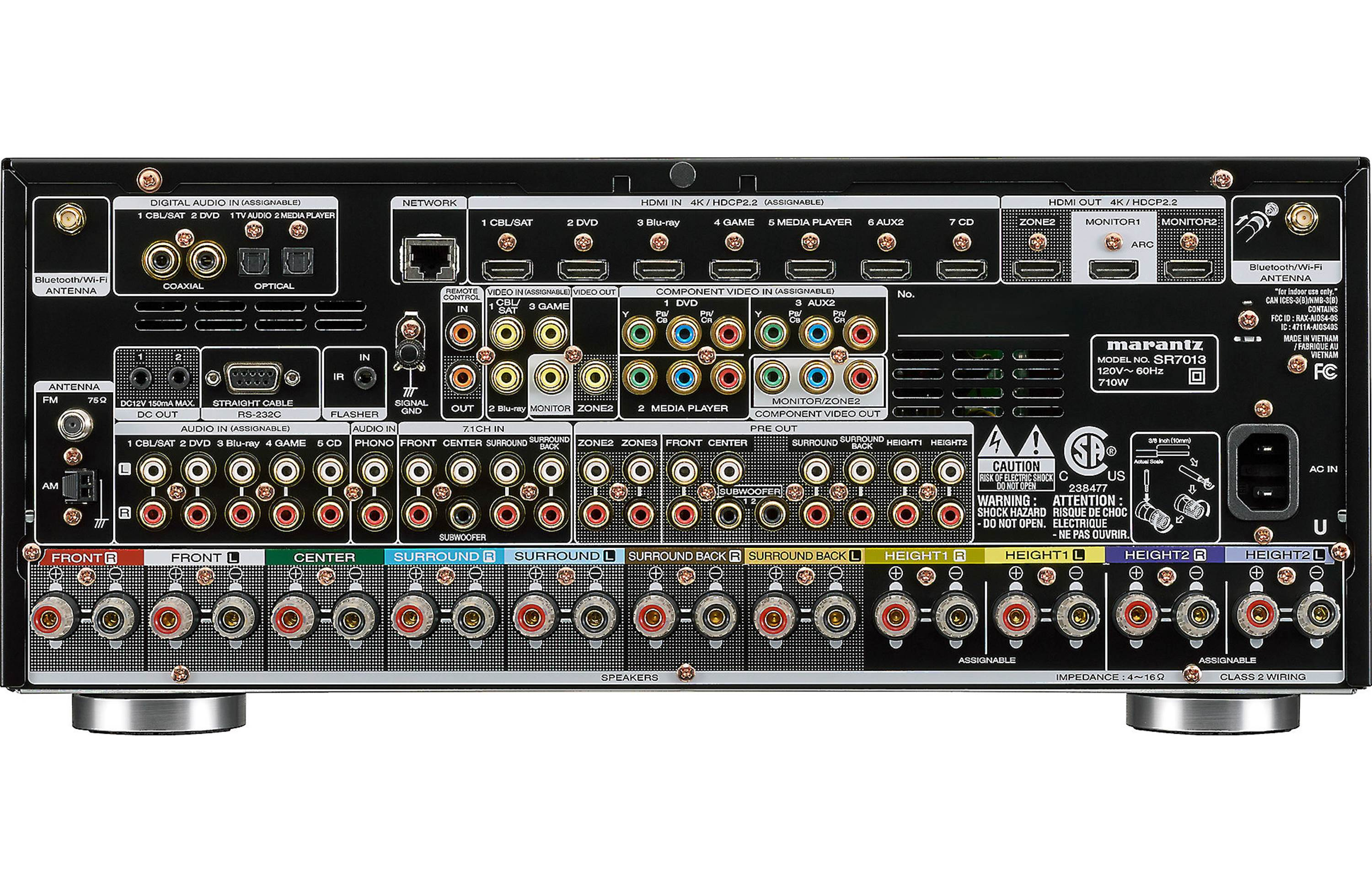 Marantz SR7013 Review - Features and Specs | ZKelectronics