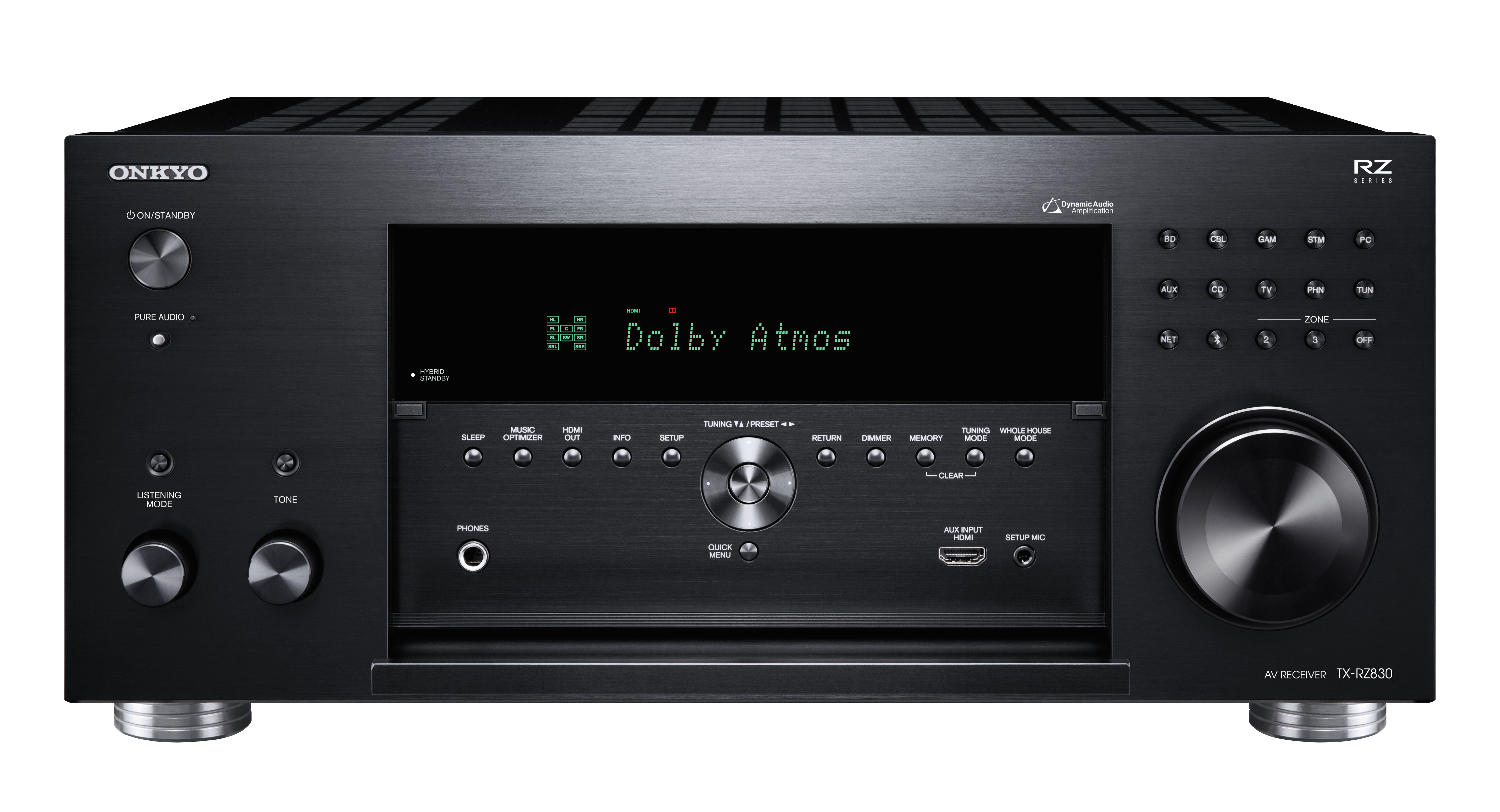 Onkyo TX-RZ830 Review - Features and Specs | ZKelectronics