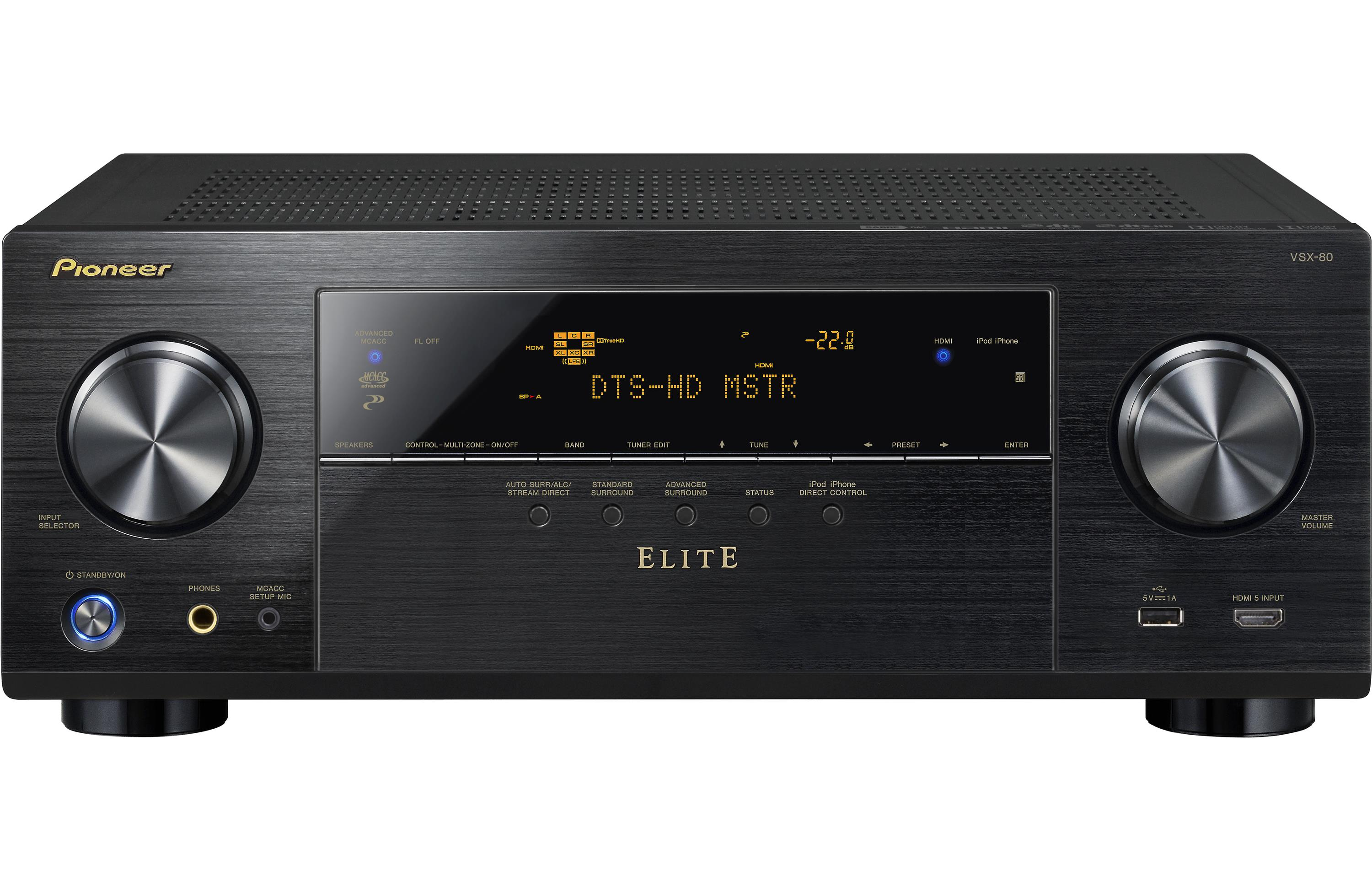 Pioneer Elite VSX-80 Review - Features and Specs | ZKelectronics