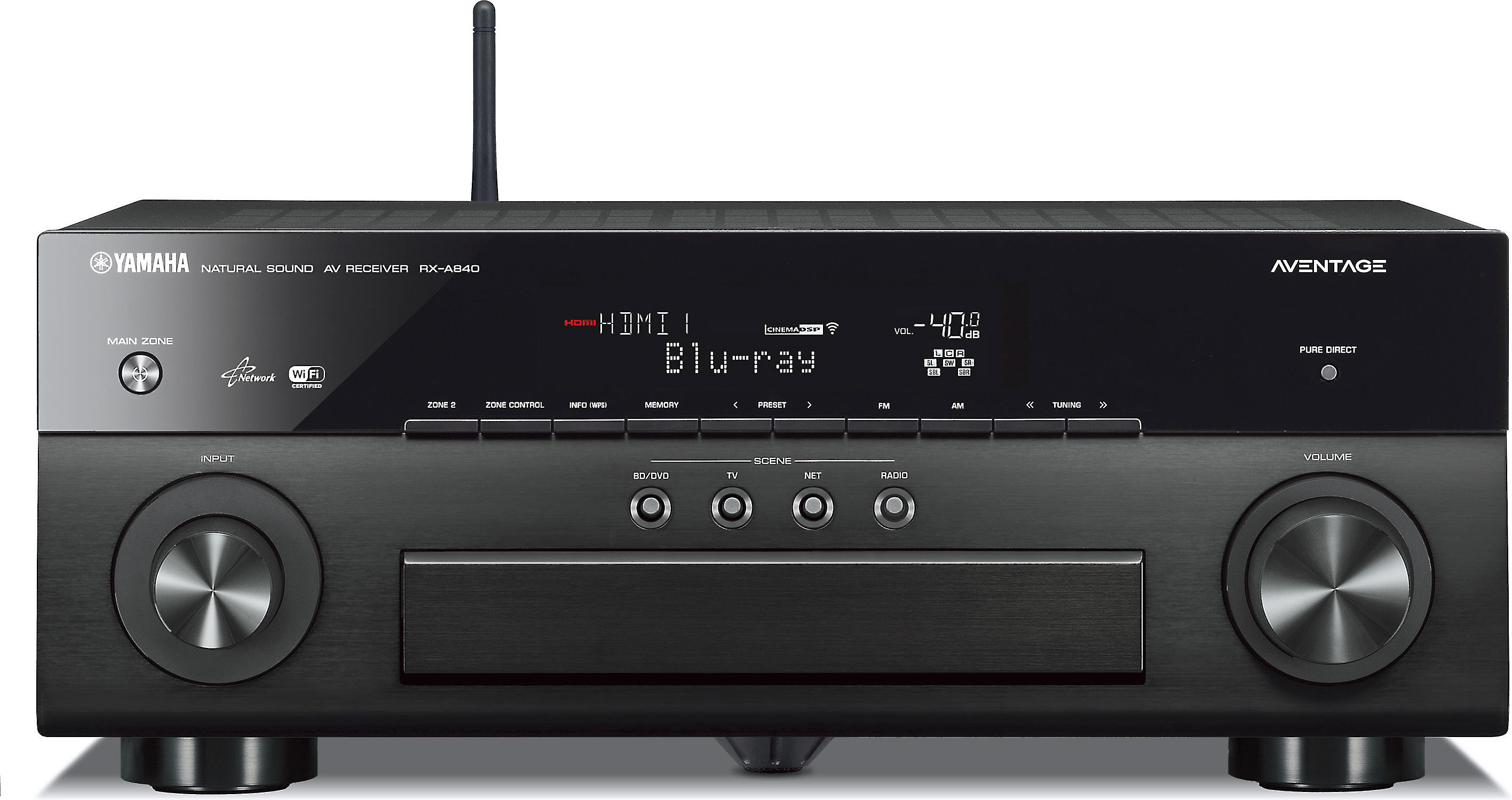 Onkyo TX-NR809 vs Yamaha Aventage RX-A840 Review - Compare